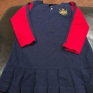 Ralph Lauren dress w/ pleated bottom skirt size 5